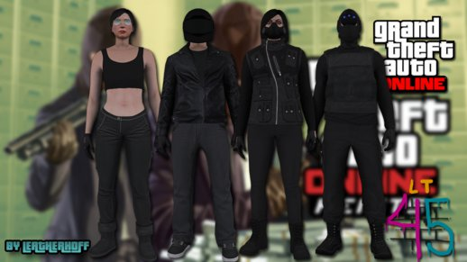 Heists DLC Skin Pack