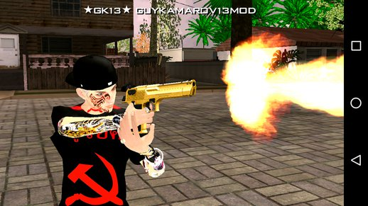 Gold Desert Eagle For Android