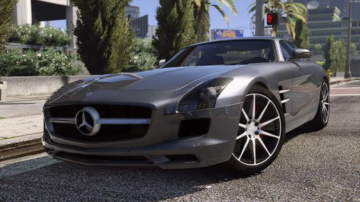 Mercedes SLS AMG AUTOVISTA [Add-on / Replace | Template]
