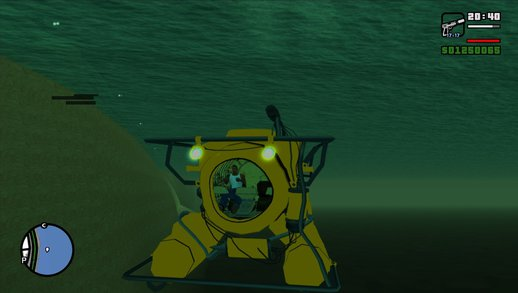 Swim In A Submarine From GTA 5 & Scuba Diving