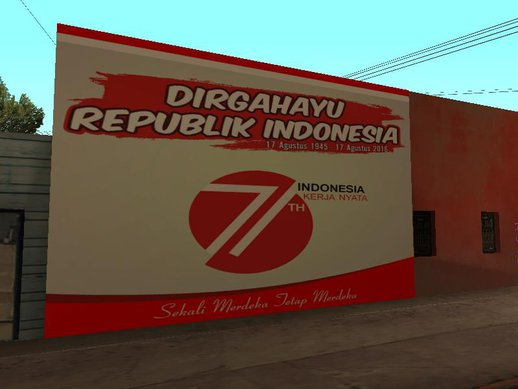Indonesia Independence Day Wall