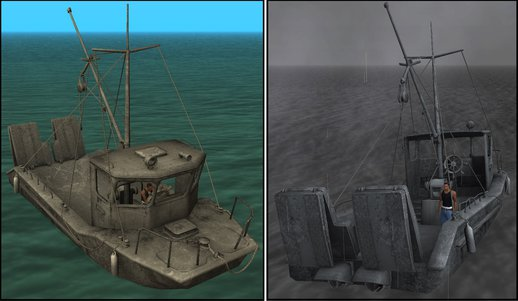 Firefly's Fishing Boat