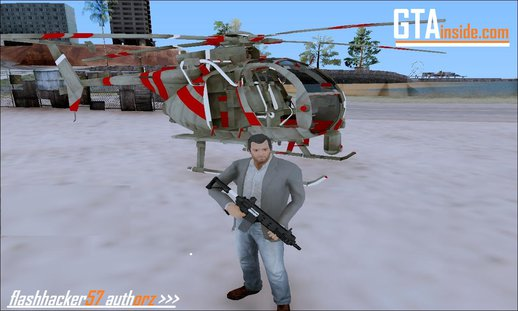 Smaga Sparrow Helis Military Version