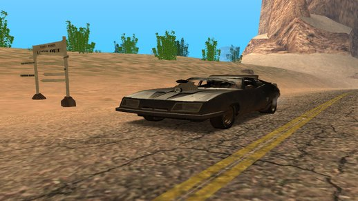Ford Falcon XB Last V8-Mad Max 2