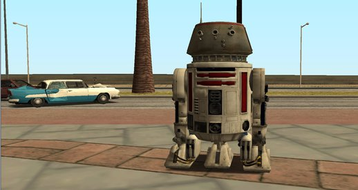 R5-D4 Droid From Battlefront (Vehicle)