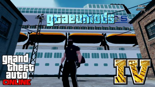 Cruise Ship Party Ship GTA Map Mod