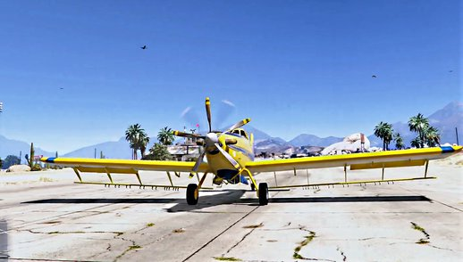 Air Tractor AT-802 Crop Duster [Add-On / Replace]