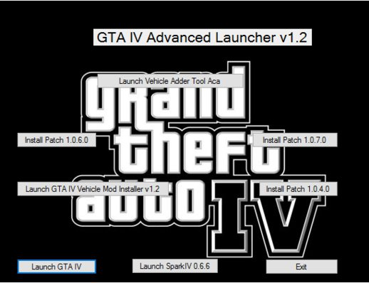 GTA IV Advanced Launcher v1.2