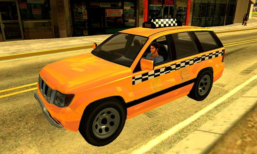 GTA V Canis Seminole Taxi (Saints Row Style) V2