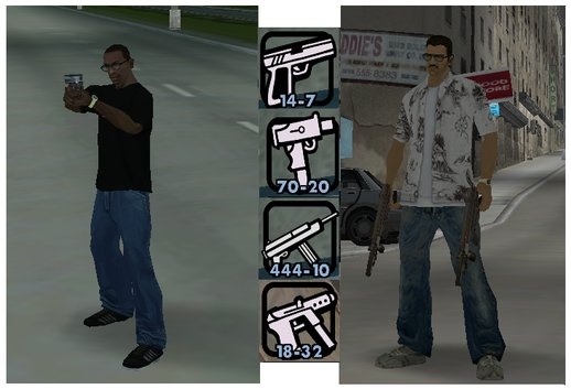 GTA Undeground: Weapons Mod And Tweaks