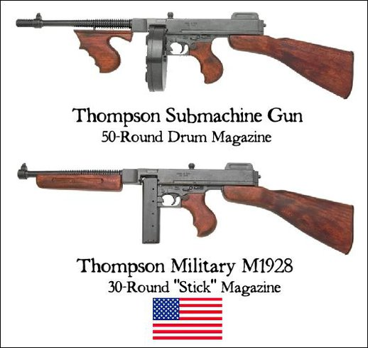 Thompson Submachine Gun Sounds
