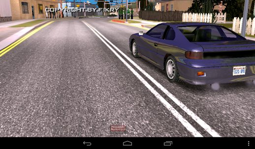 HD road Retextured For Mobile