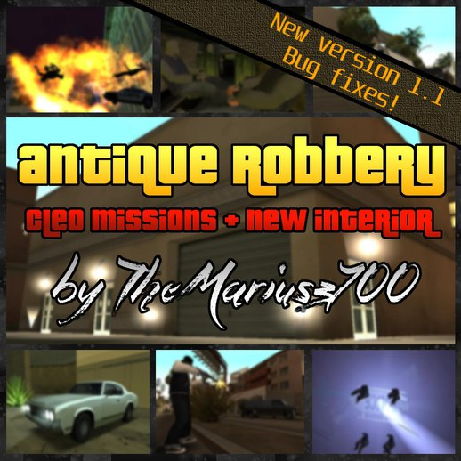 Antique Robbery v1.1