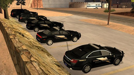 San Andreas State Troopers Pack (Black)
