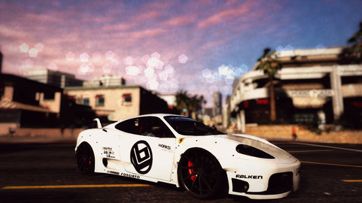 Ferrari 360 Modena Libertywalk Addon / Replace