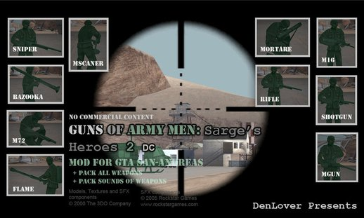 Guns of Army Men: Sarge's Heroes 2