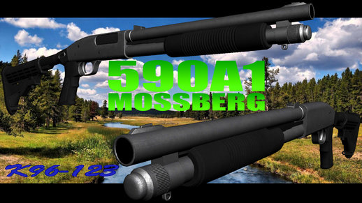 Tactical Mossberg 590A1