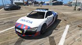 Portuguese Public Security Police - Audi R8 [Add-On] v1.0