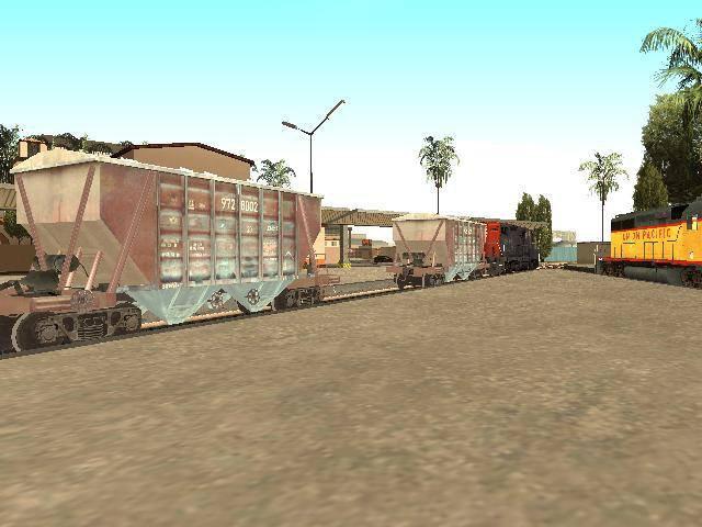 GTA San Andreas Unity Station Line 3 Trains Mods 2016 Mod