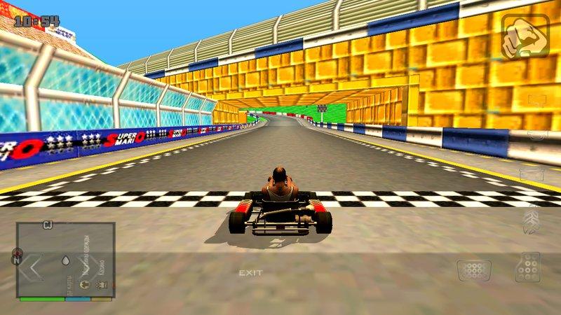 Gta San Andreas Mario Kart Wii Figure 8 Circuit Custom Track