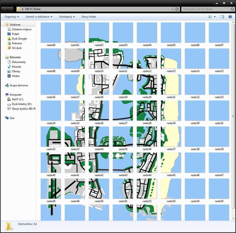 GTA Vice City Radar Map from Android Mod  GTAinsidecom