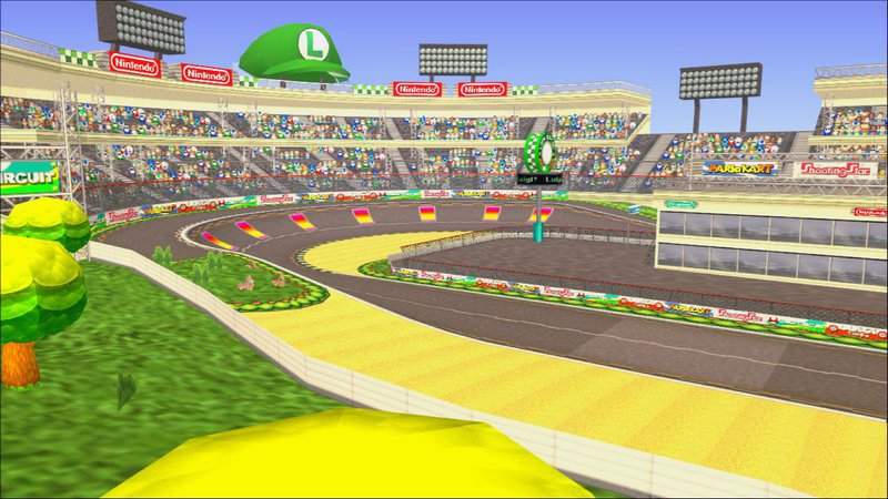 gta san andreas mario kart wii luigi circuit mod. Black Bedroom Furniture Sets. Home Design Ideas