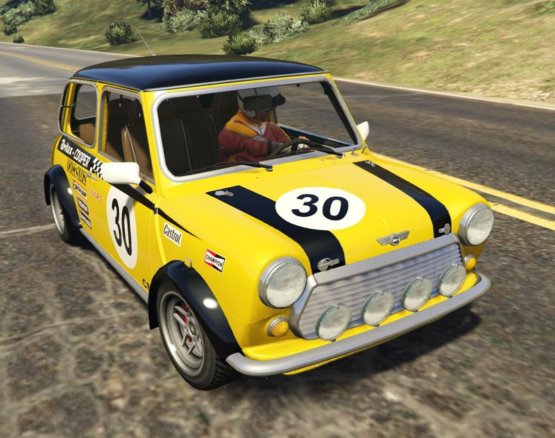 gta 5 mini cooper s mk2 mk7 miglia add on tuning. Black Bedroom Furniture Sets. Home Design Ideas