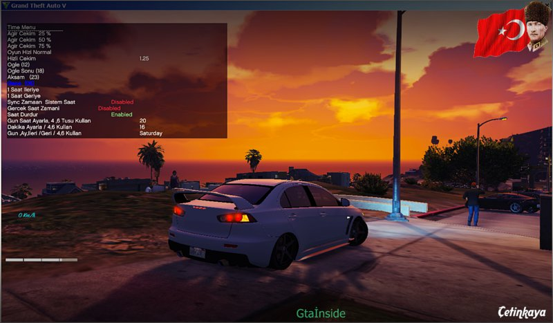 GTA 5 Turkish Translation For Simple Trainer (Türkçe) Mod