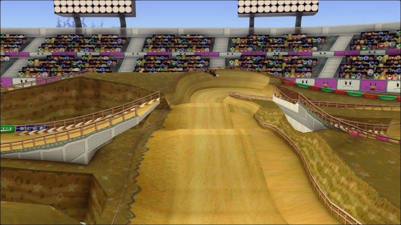Gta San Andreas Mario Kart Double Dash Waluigi Stadium Mod