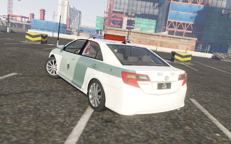 GTA 5 Saudi Traffic Police - Camry Mod - GTAinside com
