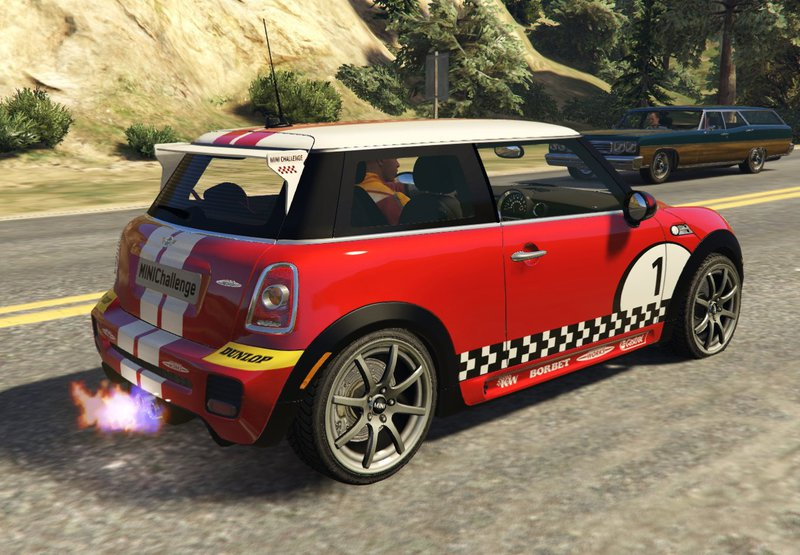 gta 5 mini jcw f56 r56 gp add on tuning livery mod. Black Bedroom Furniture Sets. Home Design Ideas