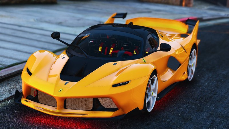 Gta 5 Ferrari Fxx K Hybrid Hypercar Add On Mod