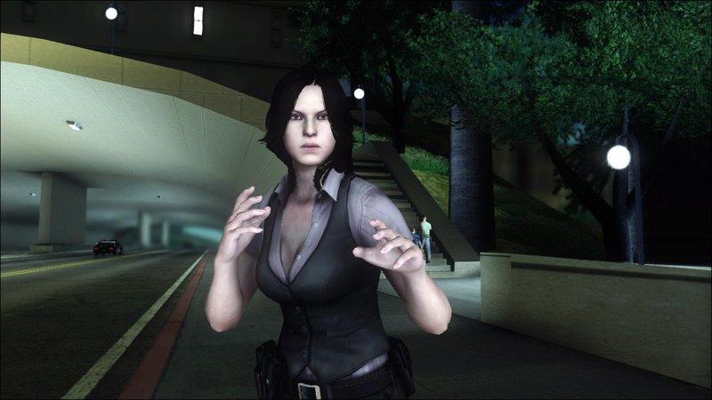 Gta San Andreas Resident Evil 6 Helena Usa Outfit Mod