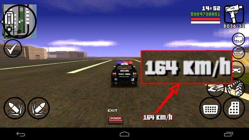 Analog speedometer for gta sa android