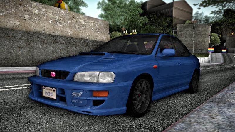 GTA San Andreas Subaru Impreza WRX STI GC8 1999 V1.0 Mod