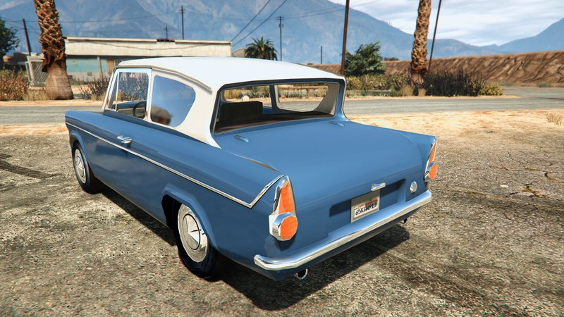 gta 5 1959 ford anglia from harry potter mod. Black Bedroom Furniture Sets. Home Design Ideas