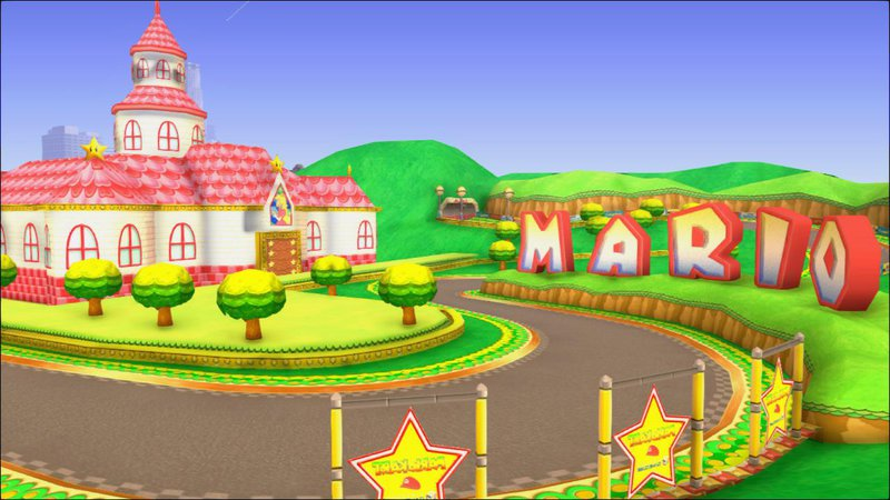 gta san andreas mario kart double dash mario circuit mod. Black Bedroom Furniture Sets. Home Design Ideas