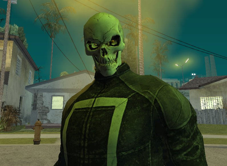 how to make a ghost rider outfit for gta online