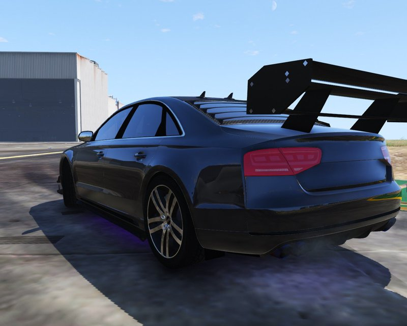 gta 5 2012 audi a8 l w12 add on tuning mod. Black Bedroom Furniture Sets. Home Design Ideas