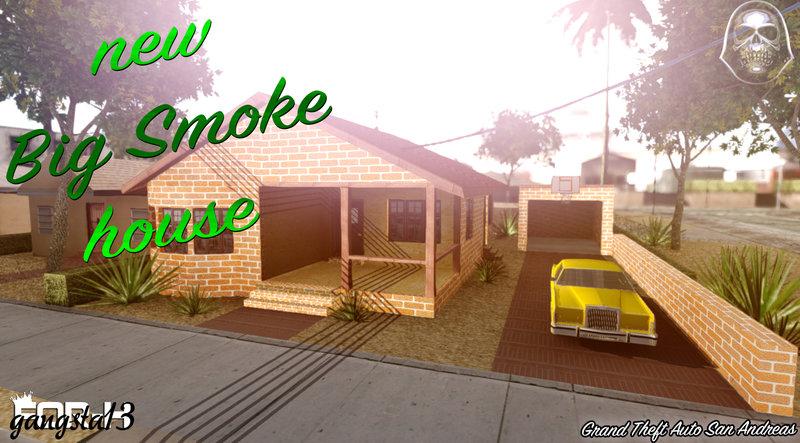 GTA San Andreas New Big Smoke House Mod - GTAinside com