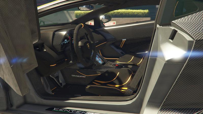 Gta 5 2017 Lamborghini Centenario Lp 770 4 Old Convert Mod