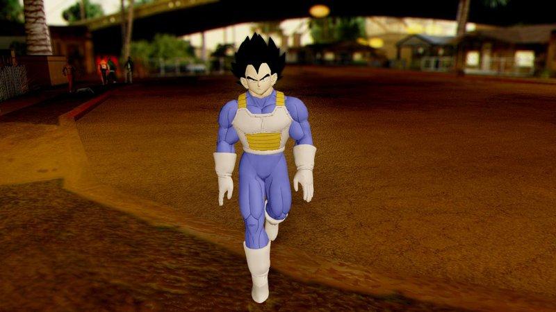GTA San Andreas Dragon Ball Xenoverse Vegeta Pack Mod ...