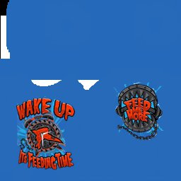 Ryback Feed Me More Blue T-shirt