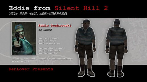 Eddie Dombrowski from Silent Hill 2