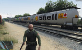 Shell Gas Train mod + BP + CAT vehicles 1.0
