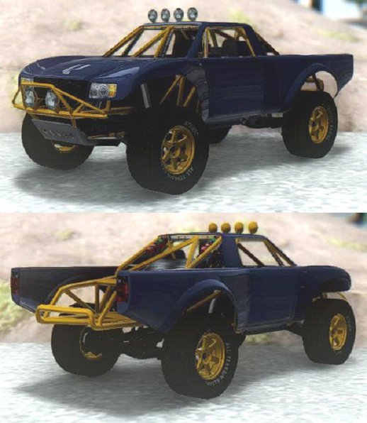 GTA V Vapid Trophy Truck