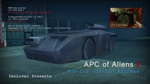 APC of Aliens II