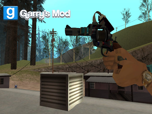 Tool Gun From Garry's Mod