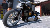 Harley-Davidson Fat Boy Lo Racing Bobber Lost MC Custom [ANIMATED/REPLACE] 1.0
