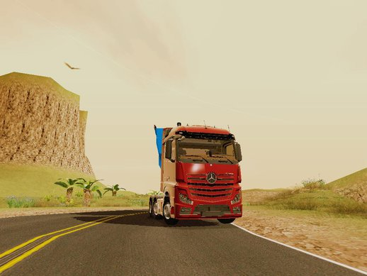 Mercedes Benz Actros Mp4 V2.0